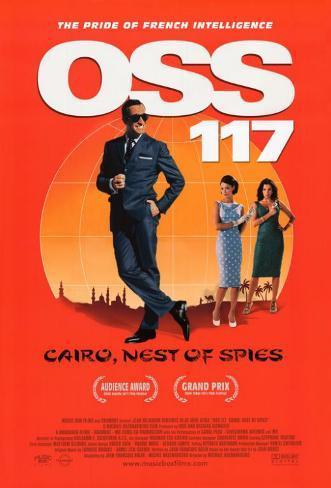 OSS 117: Cairo, Nest of Spies Masterprint