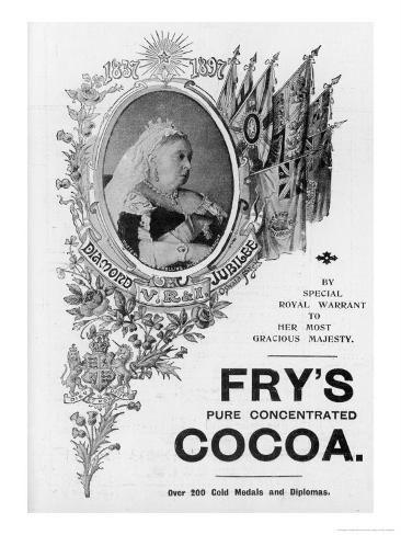 An Advertisement for Fry's Cocoa to Celebrate Queen Victoria's Diamond Jubilee Giclee Print