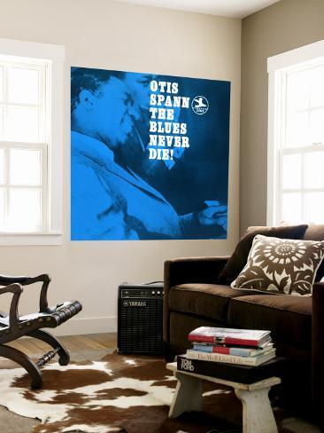 Otis Spann, The Blues Never Die! Mural