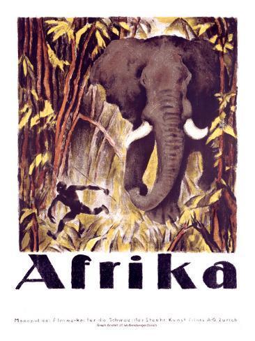 Afrika Giclee Print