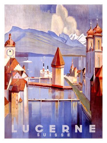 Lucerne Giclee Print