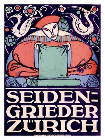 Seiden-Grieder, Zurich Giclee Print