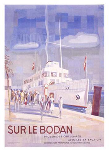 Sur le Bodan Giclee Print