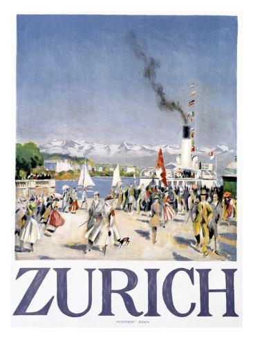 Zurich Giclee Print