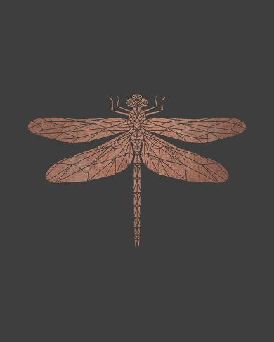 Crystal Dragonfly Giclee Print