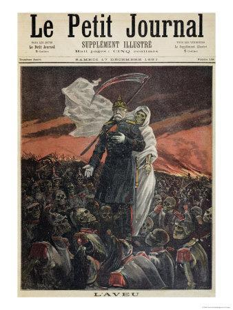 Otto Von Bismarck Cover Illustration From Quot Le Petit