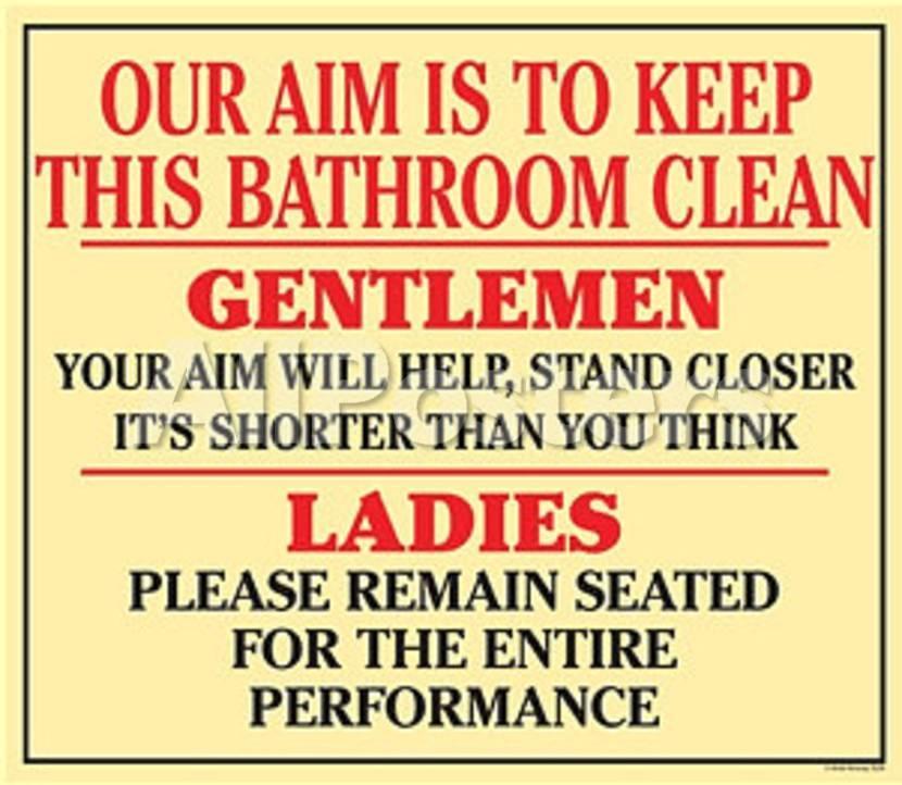 Our Aim Is To Keep Bathroom Clean