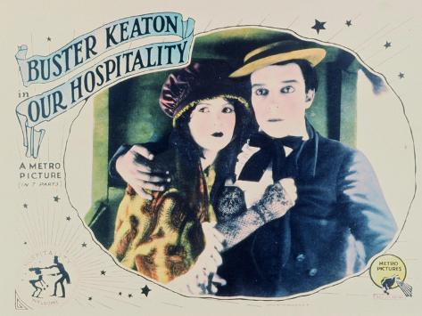 Our Hospitality, 1923 Art Print