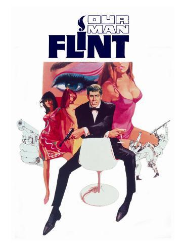 Our Man Flint, 1966 Lámina giclée prémium