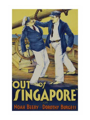 Out of Singapore Art Print