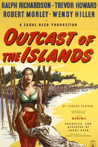 Outcast of the Islands Art Print
