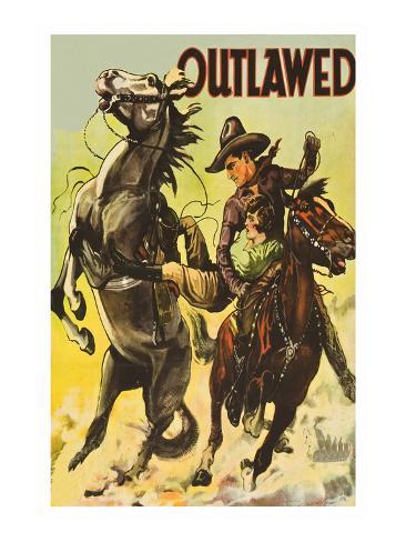 Outlawed Art Print