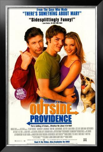 Outside Providence Framed Poster