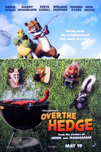 Over The Hedge Original Poster