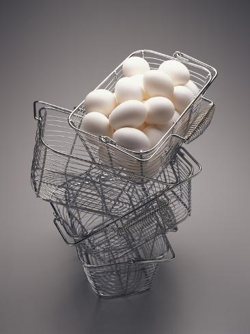 All Eggs in One Basket Photographic Print