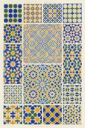 Moorish Design Art Print