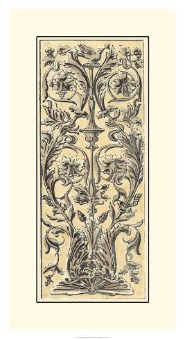 Renaissance Panel I Giclee Print