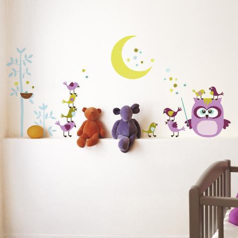Owl & Company Wall Decal
