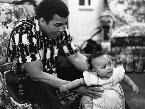 Muhammad Ali - 1977 Photographic Print