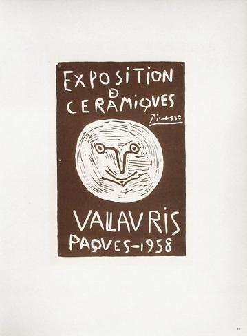 AF 1958 - Céramiques Pâques 1958 Collectable Print