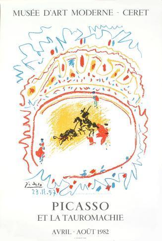 Bullfight, 1982 Lámina coleccionable