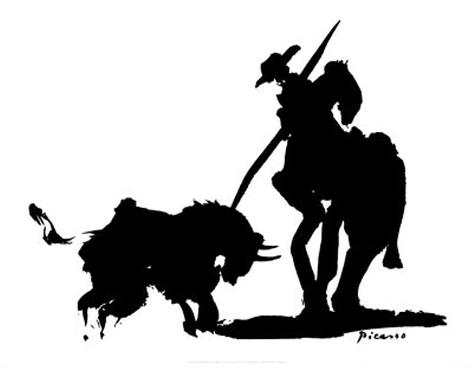 Bullfight IV Art Print