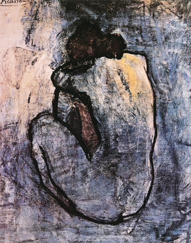 Desnudo azul, c.1902 Lámina