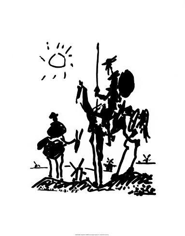 Don Quixote, c.1955 Art Print
