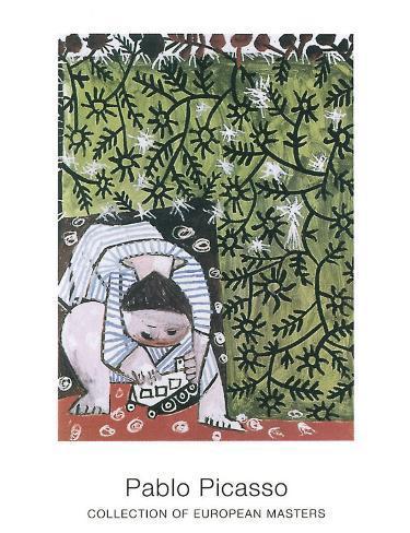 Enfant Jouant, 1953 Art Print