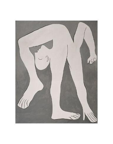 L'acrobate (The Acrobat) Impressão artística