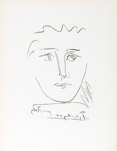 L\'Age de Soleil (Pour Roby) Collectable Print by Pablo Picasso ...