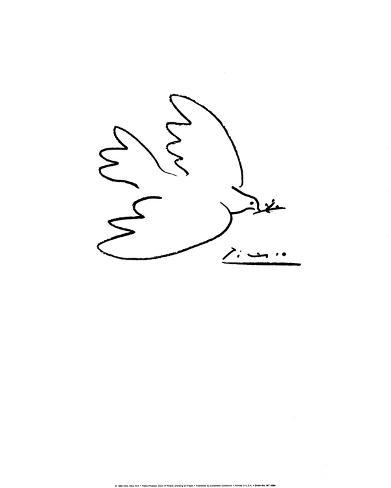 La Paloma De La Paz Láminas Por Pablo Picasso En Allposterses