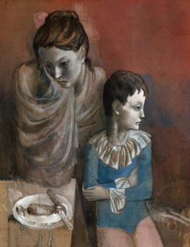 Mutter mit Kind (Gaukler), c.1905 Collectable Print