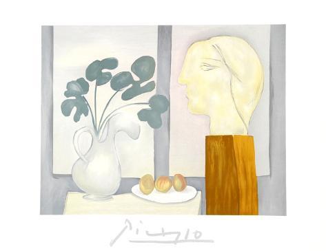 Nature Morte a la Fenetre Collectable Print by Pablo Picasso ...