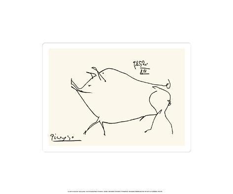 Pig Framed Art Print