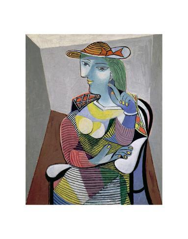 Portrait of Marie-Therese, 6th January 1937 Art by Pablo Picasso ...