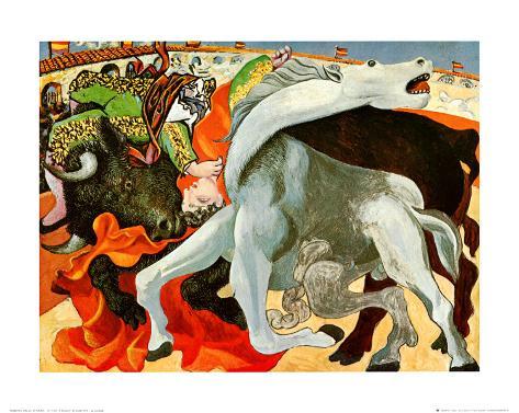 The Bullfight Art Print