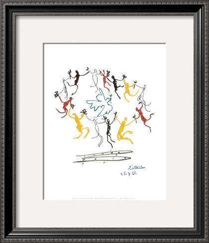 The Dance of Youth Framed Art Print