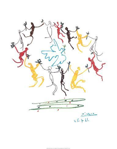The Dance of Youth Mounted Print