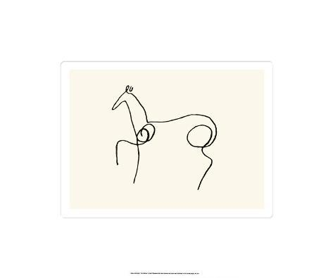 The Horse Serigraph