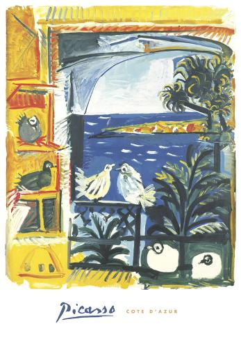 The Pigeons, 1957 Art Print