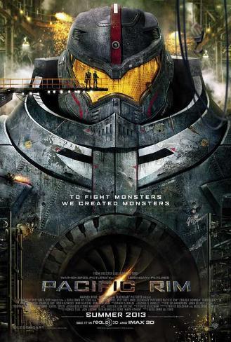 Pacific Rim (Idris Elba, Charlie Hunnam, Rinko Kikuchi) Movie Poster Masterprint
