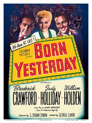 Born Yesterday Art Print