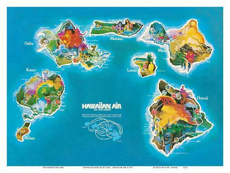 how to move from hawaiian islands