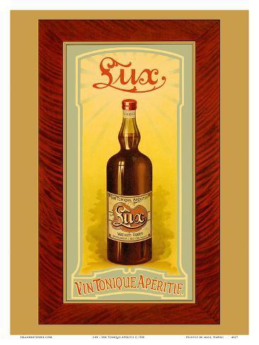 Lux – hiilihapotettu viini (Vin Tonique), aperitiivi Taidevedos