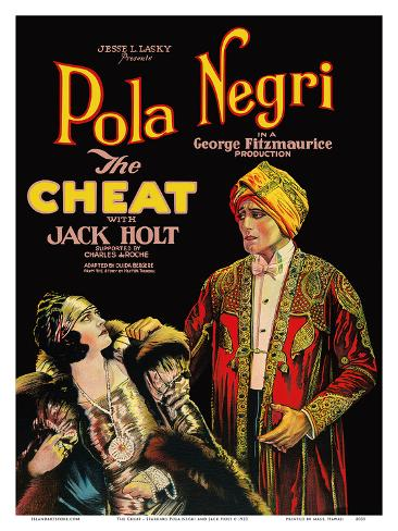 The Cheat - Starring Pola Negri and Jack Holt Art Print