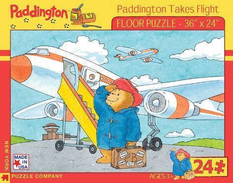 Paddington Takes Flight - 24 Piece Floor Puzzle 24 piece Floor Puzzle Jigsaw Puzzle