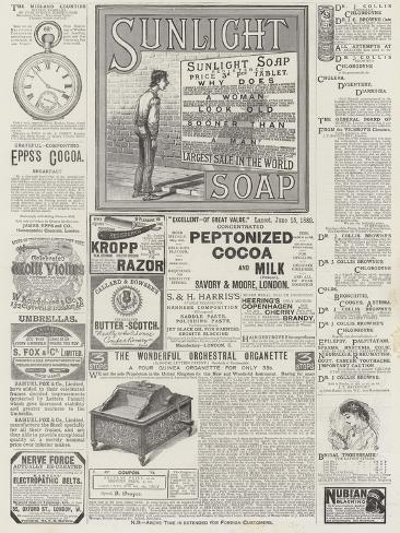 Page of Advertisements Giclée-vedos