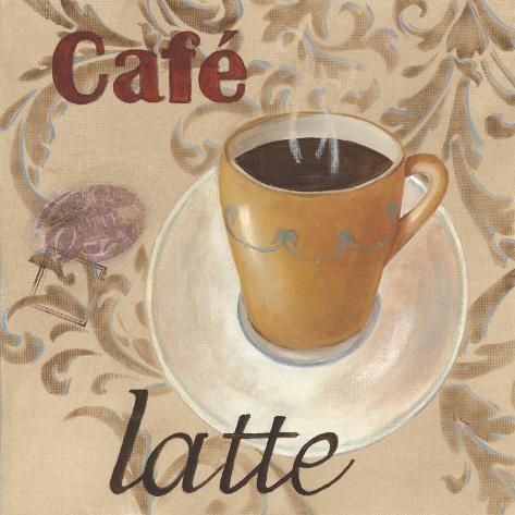 Café Latte Art Print