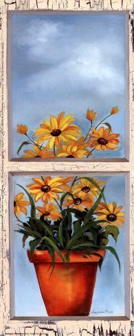 Antique Window II Art Print
